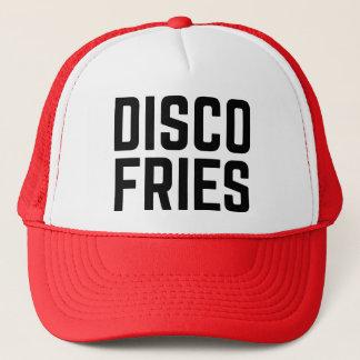 DISCO FRIES fun slogan trucker hat