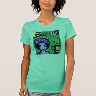 Disco Geisha Green Top
