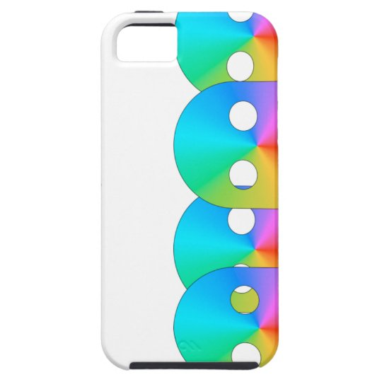 disco ghosts iPhone SE/5/5s case