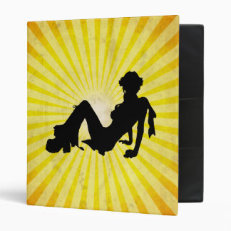 Disco Girl; yellow Binder