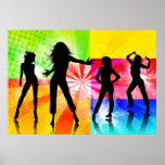 Disco Girls Print