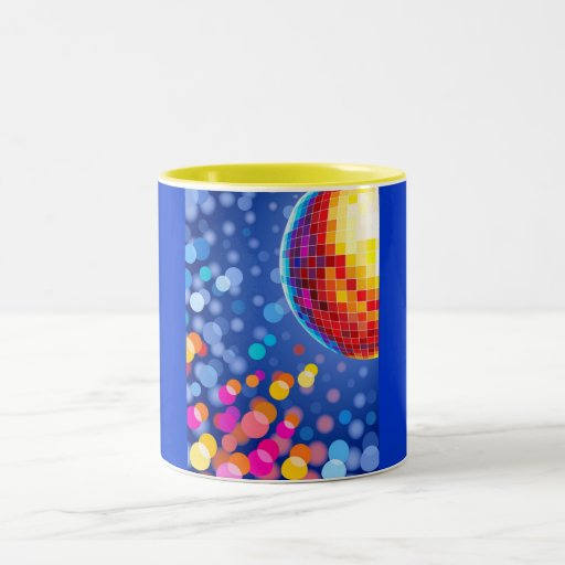 disco globe coffee mugs