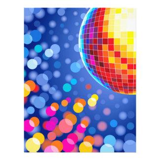 disco globe custom flyer