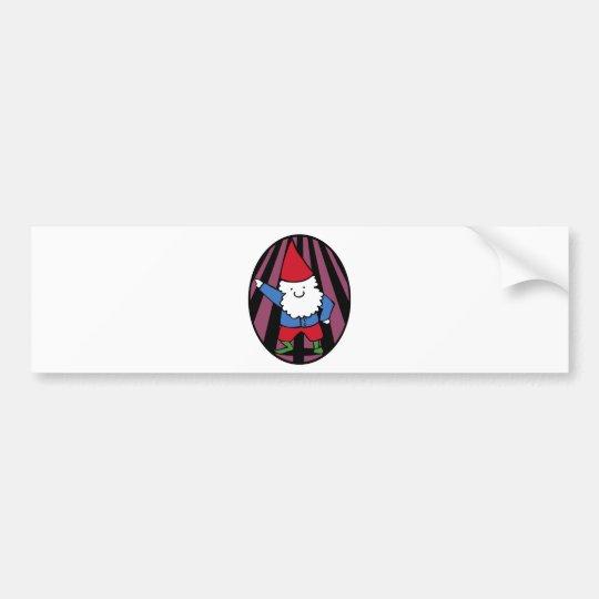 Disco Gnome Night Fever Bumper Sticker
