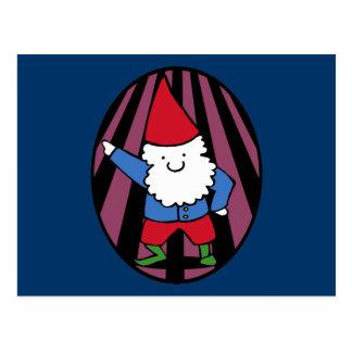 Disco Gnome Night Fever Postcards