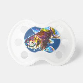 Disco Goldfish Pacifier
