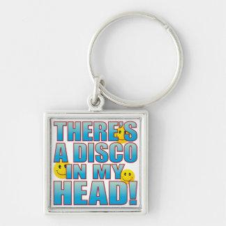 Disco Head Life B Keychain