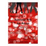 """Disco Inferno Bachelorette Party Invitation 5"""" X 7"""" Invitation Card"""