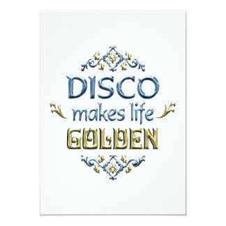 DISCO is Golden Card