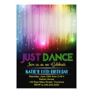 Dance Party Invitations Announcements Zazzle