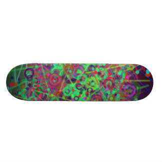 Disco Lighting Skateboard Deck