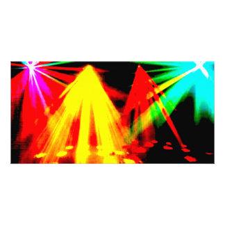 disco_lights - centre pic photo card