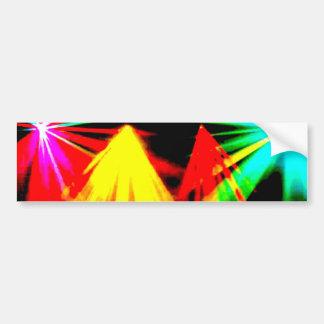disco_lights - imagen del centro etiqueta de parachoque