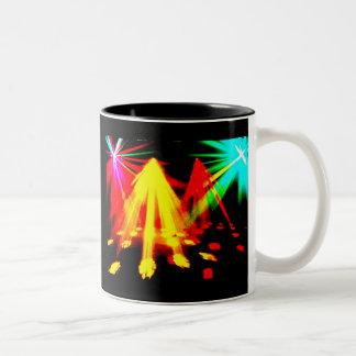 disco_lights - imagen del centro taza dos tonos