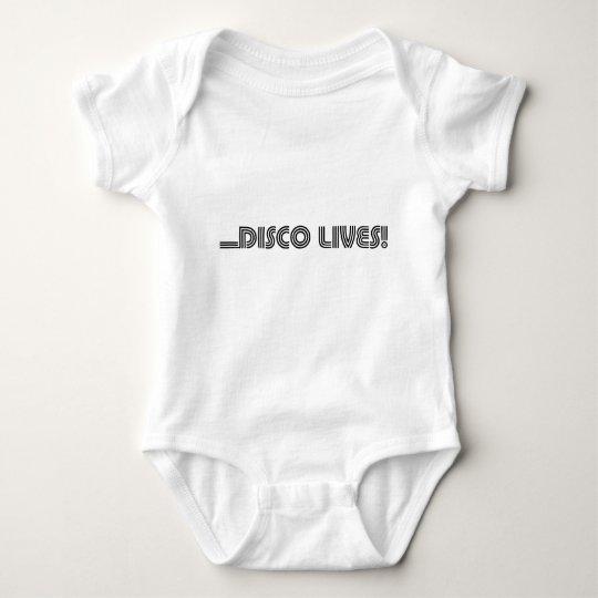 Disco Lives! Baby Bodysuit