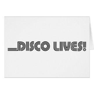 Disco Lives! Card