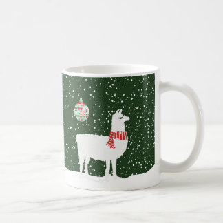 Disco Llama Holiday Merry & Bright 11oz Coffee Mug