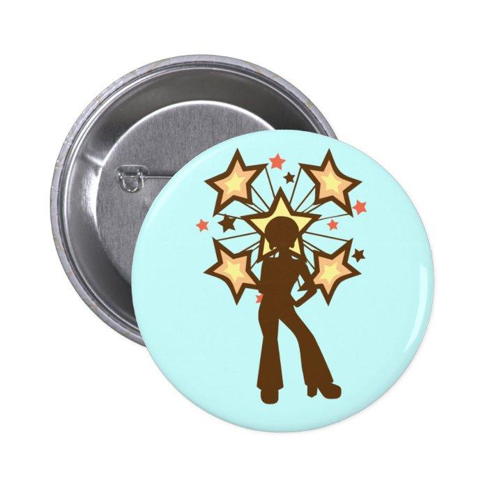 Disco Mama Pinback Button