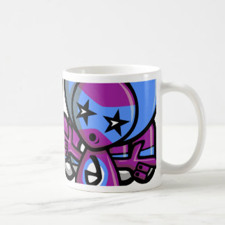 Disco Mascot Coffee Mug