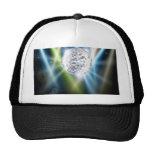 Disco mirror ball background cap