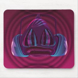 Disco monkey mouse pad
