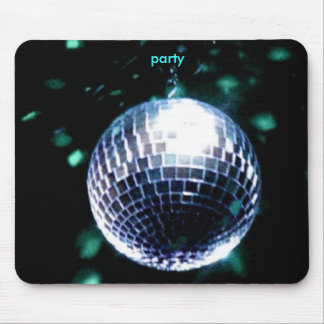 disco mouse pad