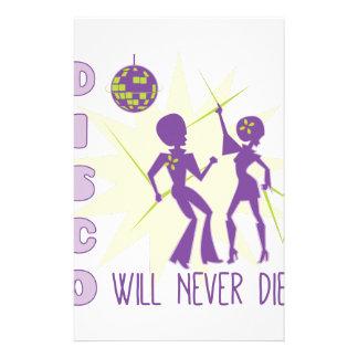 Disco Never Die Stationery