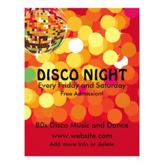 Disco Night 2 Music Flyer