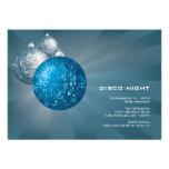 Disco Night New Year Party Invitation