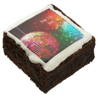 Disco Night Retro 70's Disco Ball Brownies