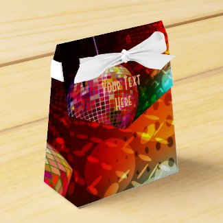 Disco Night Retro 70's Disco Ball Favor Box