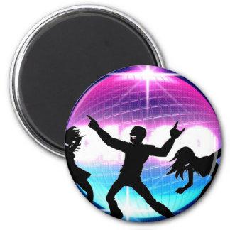 Disco Nightclub Refrigerator Magnet