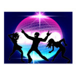 Disco Nightclub Post Cards