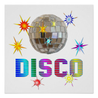 DISCO POSTERS