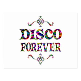 Disco para siempre postal