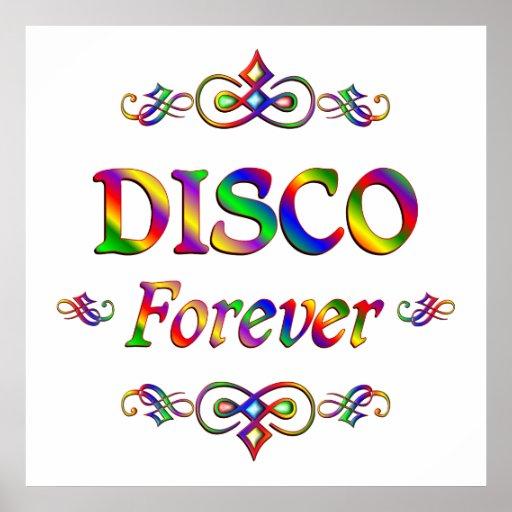 Disco para siempre póster