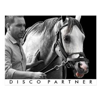 Disco Partner- NY Bred Postcard