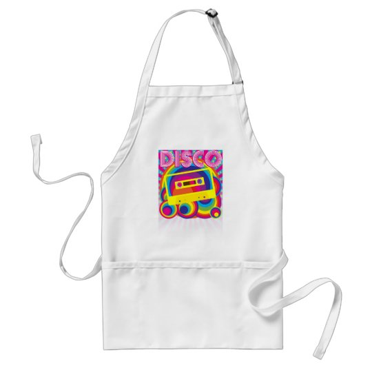 Disco Party Adult Apron