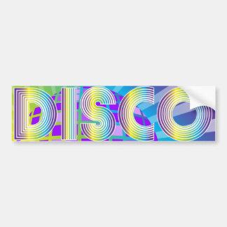 Disco Party Bumper Sticker
