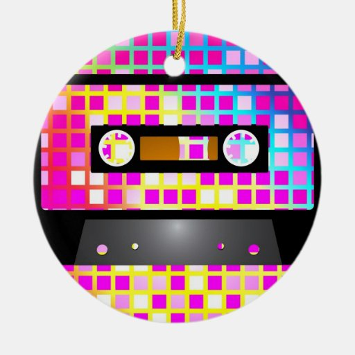 Disco Party Christmas Ornaments