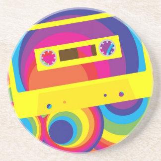 Disco Party Drink Coaster