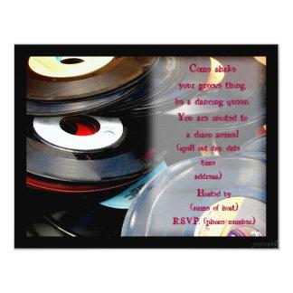 disco party invite