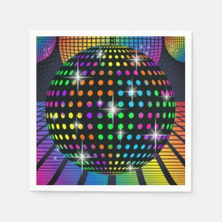 Disco Party Napkin