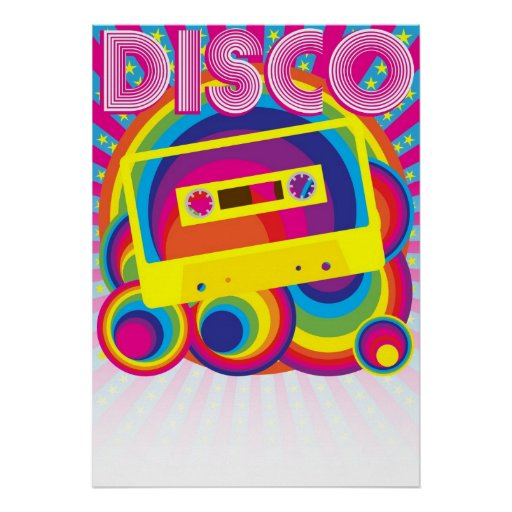 Disco Party Posters | Zazzle