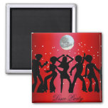 Disco Party Save the Date Magnet Fridge Magnets