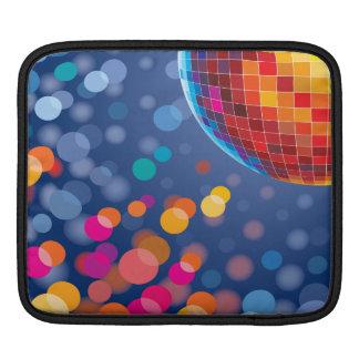 Disco Party Time Rainbow Lights iPad Sleeve