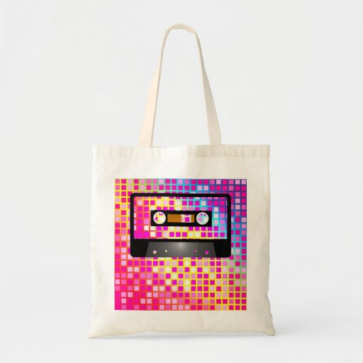 Disco Party Tote Bags