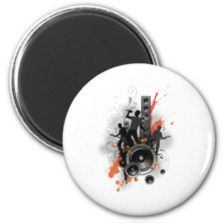 Disco Patti 2 Inch Round Magnet
