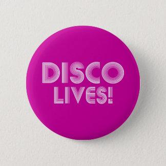 disco pinback button