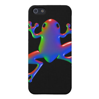 Disco Rainbow Frog Cover For iPhone SE/5/5s